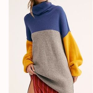 Free people color block